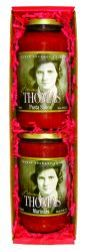 Mama Thomas Pasta Sauce and Marinara2-Item Gift Box Set
